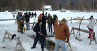 Step back in time during traditional ice harvest