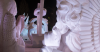 Snow Sculpture Event Draws Carving Artists To Annual Winterfest